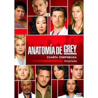 Anatomía de Grey - Temporada 4 ampliada - DVD - Varios directores ...