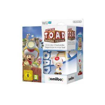 Captain Toad: Treasure Tracker + Amiibo Toad Wii U