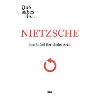 ¿Qué sabes de Nietzsche?