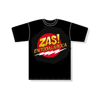 Camiseta Zas Negro m