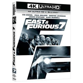 A todo gas - Fast and Furious 7 - UHD + Blu-Ray