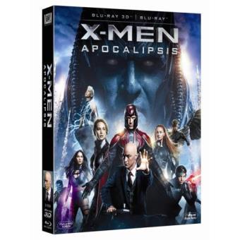 X-Men Apocalipsis - Blu-Ray + 3D