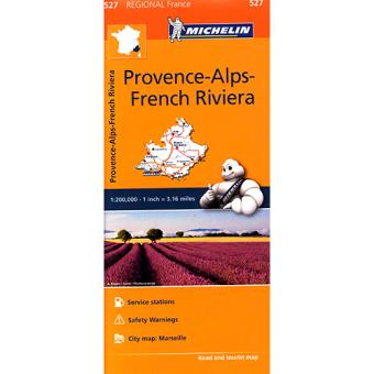 Mapa Michelin Provence-Alps-French Riviera