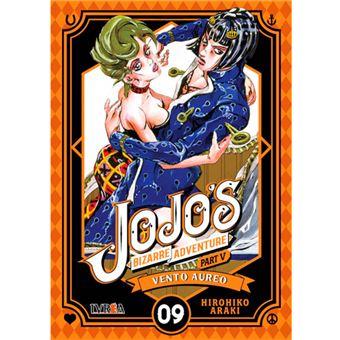 Jojo's bizarre adventure Parte 5. Vento Aureo 09