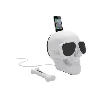 Jarre Aeroskull Altavoz iPod / iPhone Docking White