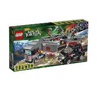 LEGO Tortugas Ninja: Huida en el camión