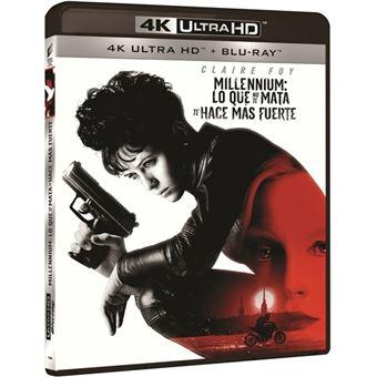Millennium 4: Lo que no te mata te hace más fuerte - UHD + Blu-Ray