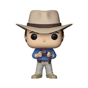 Figura Funko Jurassic Park - Dr. Alan Grant con garra