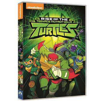 Rise Of The Teenage Mutant Ninja Turtles - Temporada 1 - DVD