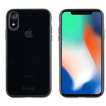 Funda Muvit Cristal Bump para iPhone Xr Negro