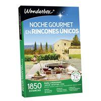 Caja regalo Wonderbox Noche gourmet en rincones únicos