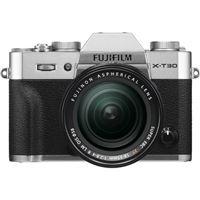 Cámara EVIL Fujifilm  X-T30 + 18-55 mm Plata