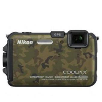 Nikon AW100 Camuflaje Cámara Sumergible Digital