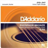 Cuerdas guitarra acústica D'Addario EJ1501