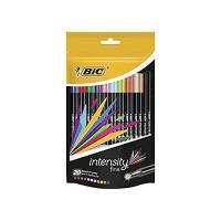 Pack Bic Intensity Fineliner 20 rotuladores de punta fina