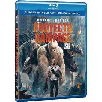 Proyecto Rampage - 3D + Blu-Ray