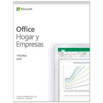Microsoft Office Hogar y Empresa 2019 1 Usuario