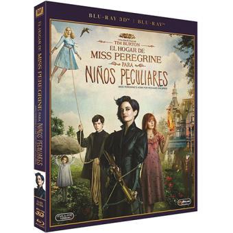 El hogar de Miss Peregrine para niños peculiares - Blu-Ray + 3D