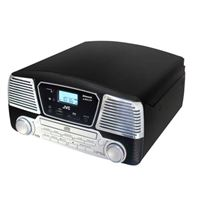 Tocadiscos Bluetooth CD JVC RD-F327B Negro