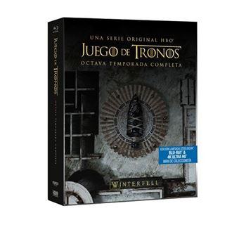 Juego de Tronos Temporada 8  Steelbook UHD + Blu-Ray