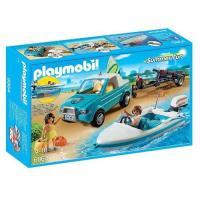 Playmobil Summer Fun  Pick Up con Lancha