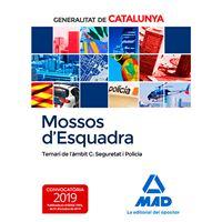 Mossos d'Esquadra - Temari de l'àmbit C: Seguretat i Policia