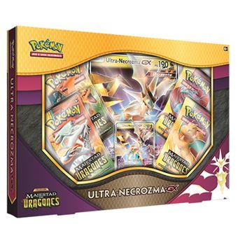 Pokémon JCC Ultra-Necrozma-GX de Majestad de dragones
