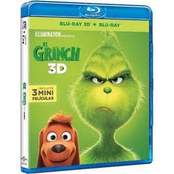 El Grinch - Blu-Ray - 3D