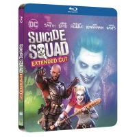 Escuadrón suicida - Steelbook Blu-Ray  Ed extendida
