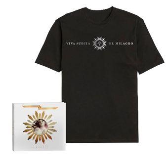 El Milagro - CD + Camiseta Unisex Talla XL