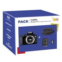 Cámara Réflex Canon 800D + 18-135 IS STM + SD 16GB Pack