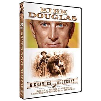 Pack Kirk Douglas - 6 Grandes Westerns - DVD