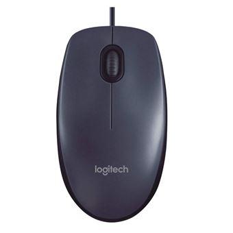 Ratón Logitech M100 Gris