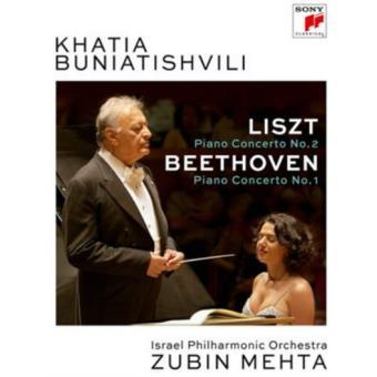Khatia Buniatishvili - Liszt: Piano Concerto No. 2 (Formato DVD)
