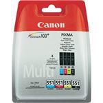 Canon 551 Multipack tintas