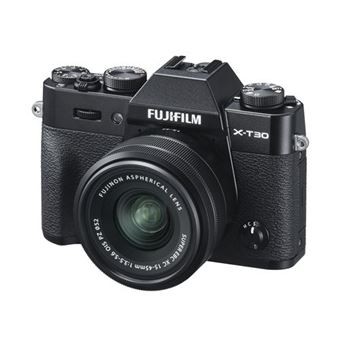 Cámara EVIL Fujifilm  X-T30 + 15-45 mm Negro