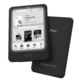 Fnac Touch Light Libro electrónico con luz integrada