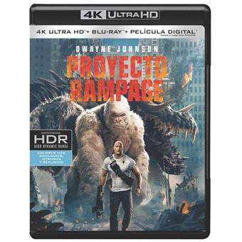 Proyecto Rampage - UHD + Blu-Ray