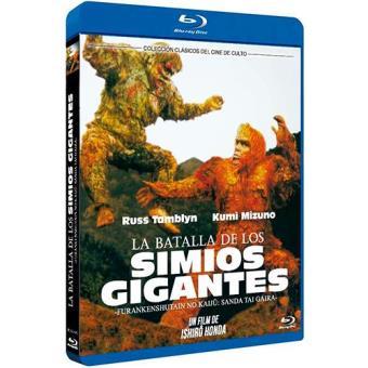 La batalla de los simios gigantes - Blu-Ray