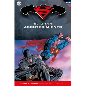 Colección Novelas Gráficas número 18: Batman/Superman:El gran acontecimiento