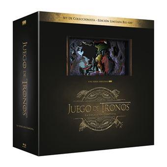 Pack Juego de Tronos - Colección completa - Blu-Ray Ed. Coleccionista