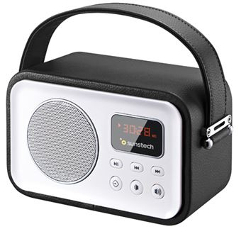 Radio Portátil Sunstech RPRBT450 Negro