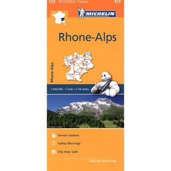 Mapa Regional: Rhone-Alpes