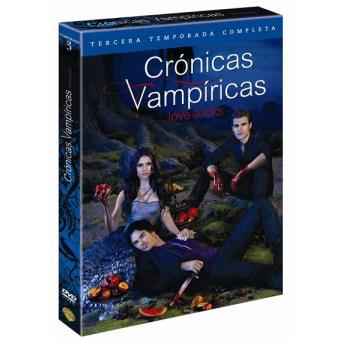 Crónicas VampíricasCrónicas vampíricas  Temporada 3 - DVD