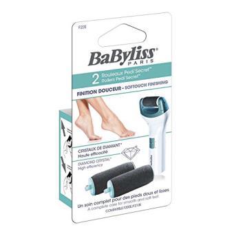 Recambio de rodillos exfoliantes Babyliss para Pedi Secret  F210E