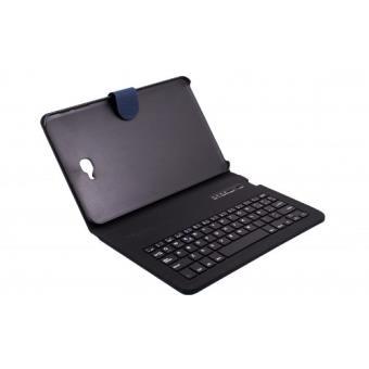 "Funda con teclado Bluetooth SilverSanz Azul para Samsung TAB A 10,1"""