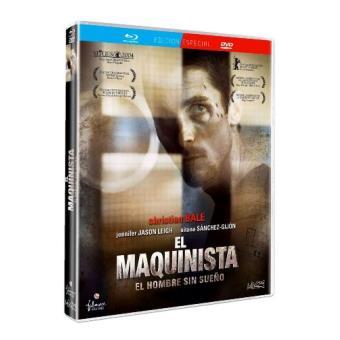El maquinista - Blu-Ray + DVD