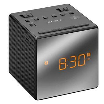 Radiodespertador Sony ICF-C1T AM/FM Negro