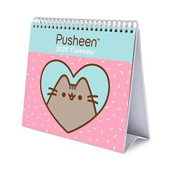 Calendario de escritorio 2020 Erik Deluxe multilingüe Pusheen Rose Collection