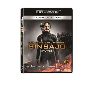 Los Juegos Del Hambre: Sinsajo Parte 1 - UHD + Blu-Ray